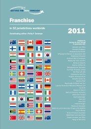 Franchising Laws - Russia - International Franchise Association