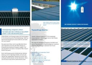 ThyssenKrupp - Franzen