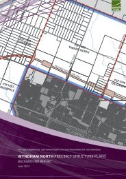 wyndham north precinct structure plans - Growth Areas Authority
