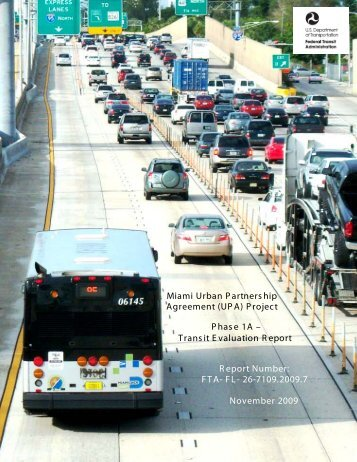 Miami UPA - Federal Transit Administration - U.S. Department of ...
