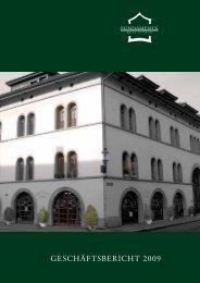 Geschäftsjahr 2009 - Fundamenta Real Estate AG