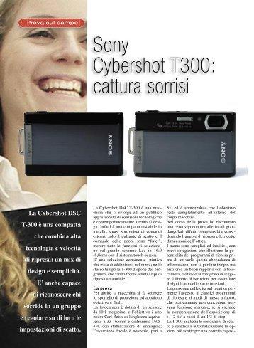 SONY T300 - Fotografia.it