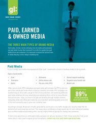 Paid, EarnEd & OwnEd MEdia 89%