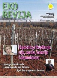 Eko revija broj 11 - Fond za zaštitu okoliša i energetsku učinkovitost