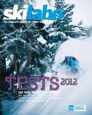 122 skis passés au crible