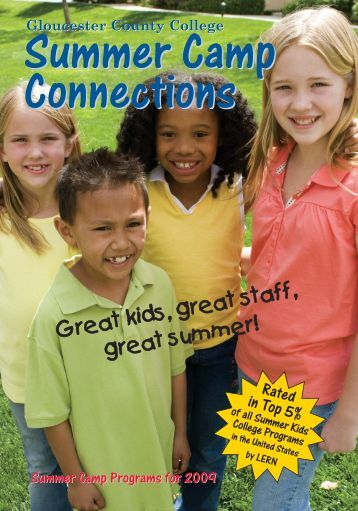 Gloucester County College Summer Camp Connections ...