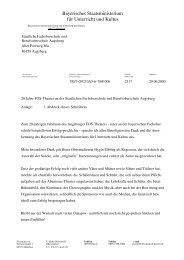 20 Jahre FOS-Theater - Staatliche Fachoberschule und ...