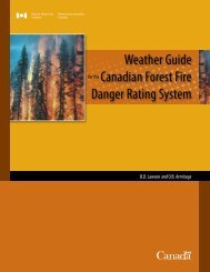 Weather Guide - The Global Fire Monitoring Center (GFMC)