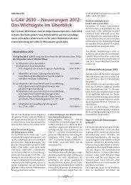 L-GAV 2010 – Neuerungen 2012: Das Wichtigste im ... - GastroBern