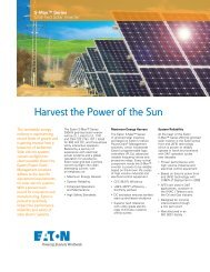 Eaton S-Max Brochure - Fusion Power System