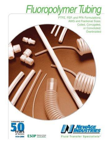Fluoropolymer Tubing - Fluidraulics Inc