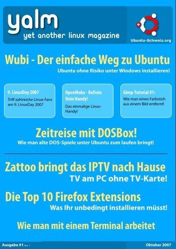 10/2007 - freiesMagazin