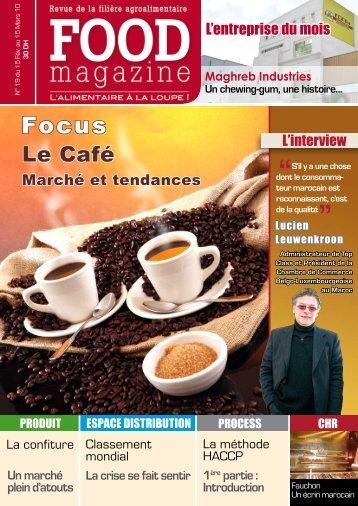 Le Café - FOOD MAGAZINE