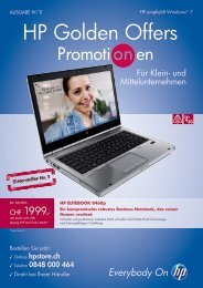 HP Golden Offers - Pool Informatik GmbH