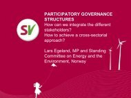 participatory governance structures - Nordic Folkecenter for ...