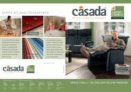 Casada Polster Caprice-Broschüre als PDF ... - Flamme-Möbel