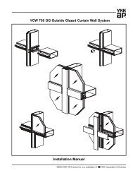 YCW 750 OG Curtain Wall System - Florida Building Code ...