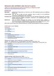Schwarze Liste der Neophyten in der Schweiz