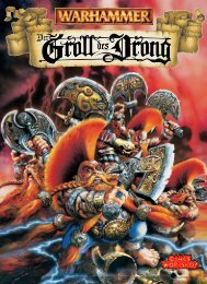 Der Groll des Drong - Games Workshop