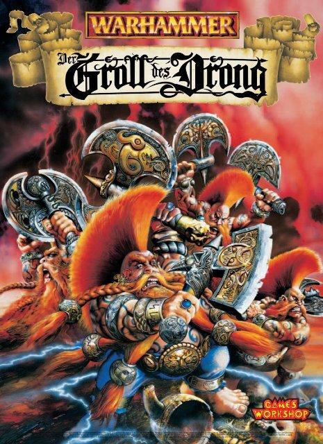 Der Groll des Drong - Games Workshop