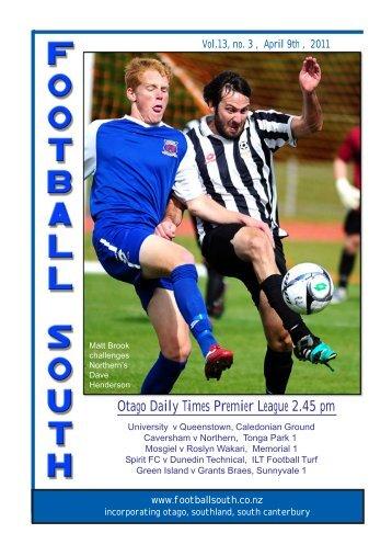 9th April 2011 - Football South