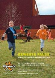 Broschüre für Lehrpersonen - Fit for Future