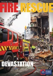 February 2011 / Issue 67 - New Zealand Fire Service