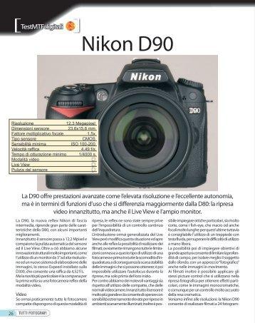 Nikon D90 - Fotografia.it