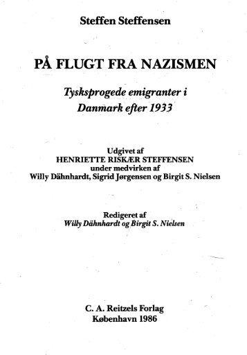 PÅ FLUGT FRA NAZISMEN - Det danske Fredsakademi