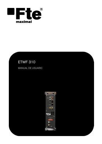 ETWF 310 - FTE Maximal