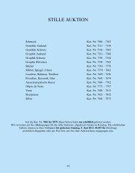Stille Auktion, Kat.-Nr. 7001-7875 - Galerie Fischer Auktionen AG