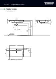 FORMAT Design Sanitärkeramik