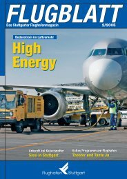 Ausgabe 2/05 - Flughafen Stuttgart