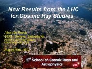 New Results from the LHC for Cosmic Ray Studies (pdf)