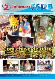 Com chave de ouro - Faculdade Salesiana Dom Bosco