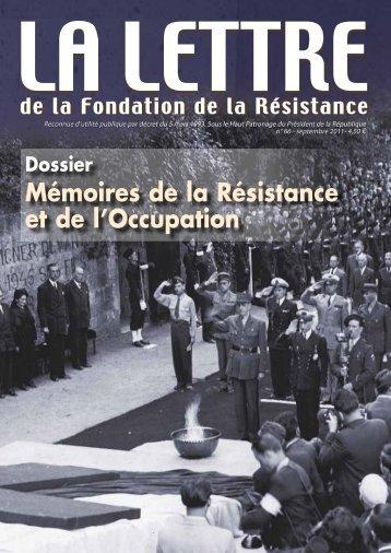 Télécharger au format PDF (1.4 Mo) - Fondation de la Résistance
