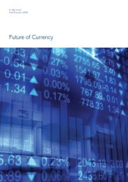 Initial perspective on Future of Currency - Future Agenda