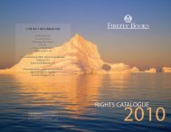 RIGHTS CATALOGUE - Firefly Books