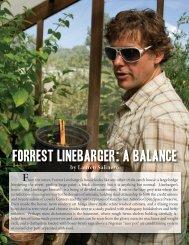Forrest Linebarger: A Balance