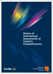 Review of International Assessments of Ireland's ... - Forfás