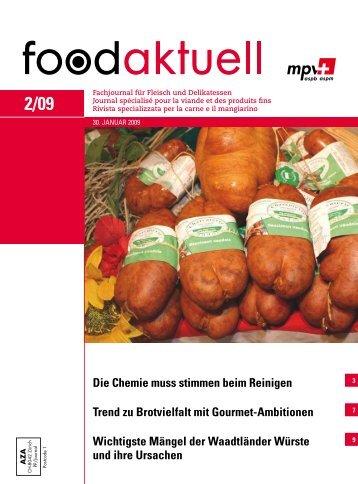 foodaktuell 2 2009 druck - Foodaktuell.ch