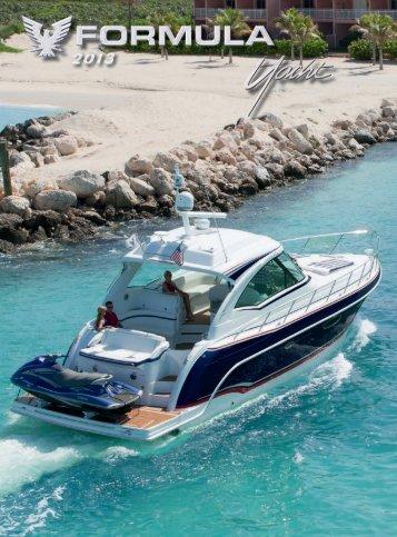 Yacht Brochure - 2013 - Formula Boats