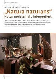 Download des Artikels im PDF-Format. - Floristmeisterschule ...