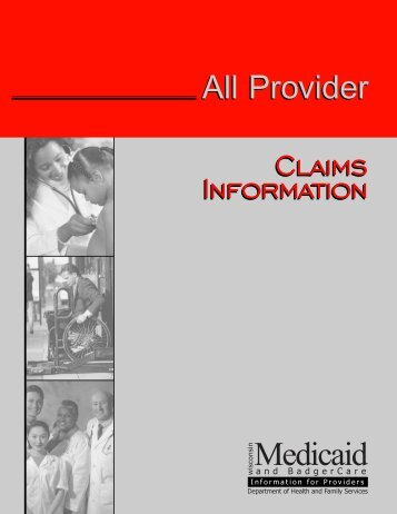 Claims Information - Wisconsin.gov