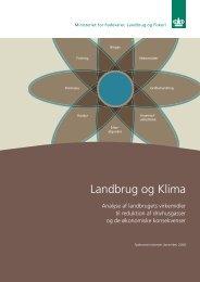 Landbrug og klima.pdf - Fødevareministeriet