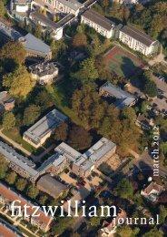 Part I - Fitzwilliam College - University of Cambridge