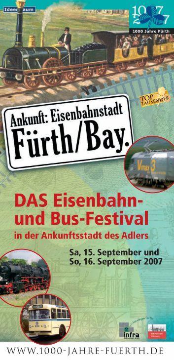 Fürth - Historische Eisenbahn Frankfurt