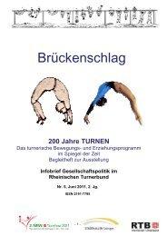 Brückenschlag. 200 Jahre TURNEN - RTB