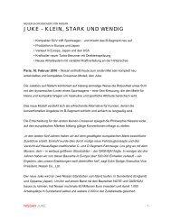 Zur Pressemitteilung der Nissan Center Europe ... - Autohaus Wurst