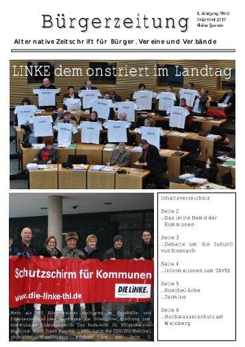 Aktuelle Ausgabe Nr. 8/2010 - Frank Kuschel MdL